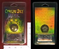 Dice : MINT32 STEVE JACKSON GAMES CTHULHU DICE METAL BRONZE 01