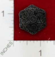 Dice : MINT22 SHAPEWAYS JENGINEER 20 SIDED DIE WITH LEAVES 02