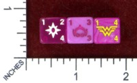 Dice : MINT47 WIZKIDS DICE MASTERS WAR OF LIGHT STAR SAPPHIRE CORPS