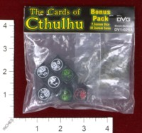 Dice : MINT43 DAN VERSSEN GAMES THE CARDS OF CTHULHU