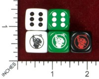 Dice : MINT47 FLYING BUFFALO TUNNELS AND TROLLS DEMON