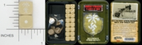 Dice : MINT15 GALE FORCE NINE FOR FLAMES OF WAR TD015 DEUTSCHES AFRIKAKORPS