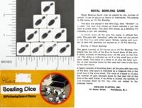 Dice : SPORTS CRISLOID BOWLING 01