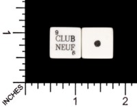 Dice : MINT59 CLUB NEUF