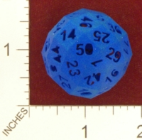 Dice : MINT24 SHAPEWAYS FRIZ 50 SIDE DIE 01