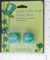 Dice : MINT12 BIG LOTS LUCK O THE IRISH 01