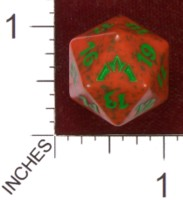 Dice : D20 OPAQUE ROUNDED SPECKLED MTG LIFE COUNTERS GATECRASH 02