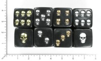 Dice : MINT55 UNKNOWN SKULL PIPS