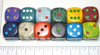 Dice : LG PLASTIC2 05 SPECKLED