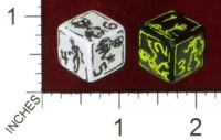 Dice : MINT43 TINDERBOX ENTERTAINMENT DICE EMPIRE SERIES 1 BRAINS