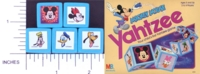 Dice : NON NUMBERED MB MICKEY MOUSE YAHTZEE