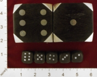 Dice : MINT25 UNKNOWN STEEL PIPS 01