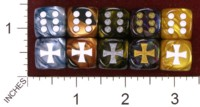 Dice : MINT35 JSPASSINTHRU MALTESE IRON CROSS