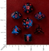 Dice : MINT46 CHESSEX 2015 POLY COLORS 02