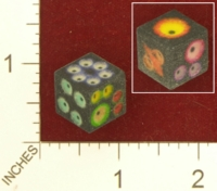 Dice : MINT26 SHAPEWAYS STOP4STUFF EYES DIE D6 01