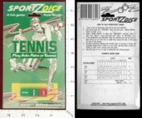 Dice : MINT24 TEVELE SPORTZDICE TENNIS 01