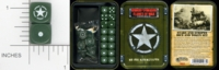 Dice : MINT15 GALE FORCE NINE FOR FLAMES OF WAR TD012 STARS AND STRIPES