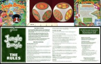 Dice : MINT22 DRUMOND PARK JUNGLE BUNGLE THE AMAZING LINGUASCOPE TALKING DICE GAME 01