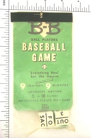 Dice : SPORTS 19 BB BASEBALL