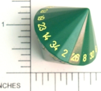 Dice : D34 OPAQUE ROUNDED SOLID 2