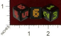 Dice : MINT43 TINDERBOX ENTERTAINMENT DICE EMPIRE SERIES 1 8 BIT BLACKLIGHT