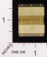 Dice : MINT18 ACE PRECISION BRASS PIPPED 02