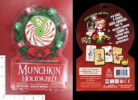Dice : MINT51 STEVE JACKSON GAMES MUNCHKIN HOLIDAZED