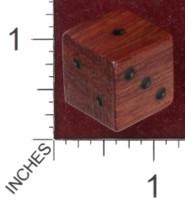 Dice : MINT36 GRYPHON DESIGN STUDIOS BUBINGA