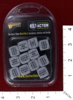Dice : MINT39 WARLORD GAMES BOLT ACTION ORDER DICE 07