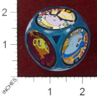 Dice : MINT41 TOMY POKEMON BATTLE DICE