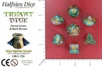 Dice : MINT52 GATE KEEPER GAMES HALFSIES DICE TREANT