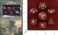 Dice : MINT46 NORSE FOUNDRY JASPER RED