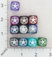 Dice : MINT16 CHESSEX SECRET SOCIETY CHURCH OF SATAN 01