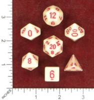 Dice : MINT50 CHESSEX BLOOD AND BONES