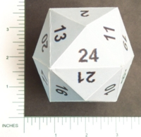 Dice : PAPER D24 MY DESIGN