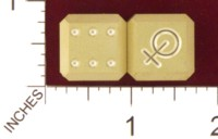 Dice : MINT19 ACE PRECISION FEMALE SYMBOL HAND MIRROR 01