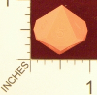 Dice : D10 OPAQUE SHARP SOLID GAMESCIENCE D5 01