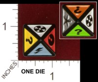 Dice : D8 OPAQUE ROUNDED SOLID UNKNOWN SCENE IT 01