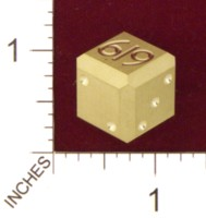 Dice : MINT21 ACE PRECISION BRASS 619