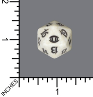 Dice : D20 MTG OPAQUE ROUNDED SPECKLED WIZARDS OF THE COAST MTG FUTURE SIGHT 04
