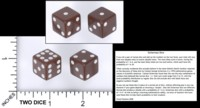 Dice : MINT55 MATHARTFUN SICHERMAN PIPPED