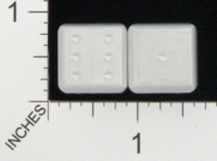 Dice : MINT18 ACE PRECISION D6 ALUMINIUM ROUNDED 01