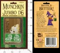 Dice : MINT28 STEVE JACKSON MUNCHKIN JUMBO D6 04