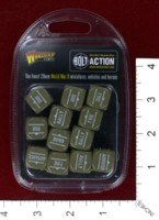 Dice : MINT39 WARLORD GAMES BOLT ACTION ORDER DICE 02