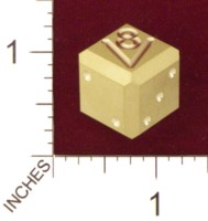 Dice : MINT21 ACE PRECISION BRASS V8