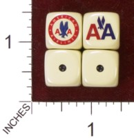 Dice : MINT35 HOMEMADE AMERICAN AIRLINES