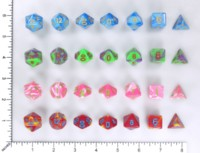 Dice : MINT58 HENGDA SWIRL TWO TONE