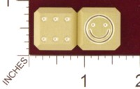 Dice : MINT19 ACE PRECISION SMILEY FACE 01