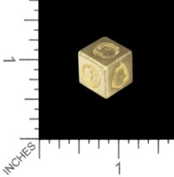 Dice : MINT56 TRAYSER METAL WORKS BRASS D6 HEROQUEST