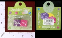 Dice : MINT32 UNKNOWN DECISION DICE ERASERS